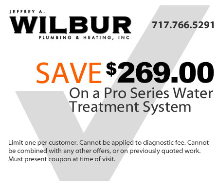 save 269 dollars on a Pro Series Water Treatment System
